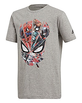 adidas Youth Boys Spider-Man Tee