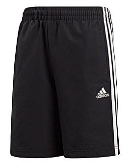 adidas Youth Boys 3 Stripe Woven Short
