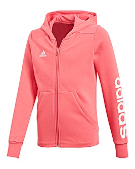 adidas Youth Girl Linear Hoodie