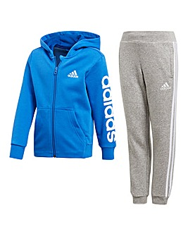 adidas Younger Boys Printed Tracksuit