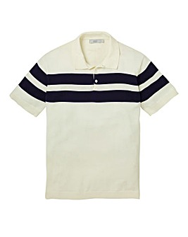 WILLIAMS & BROWN Knitted Polo