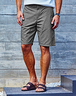 WILLIAMS & BROWN Print Shorts