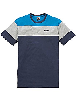 Mitre Block Stripe T Shirt Regular