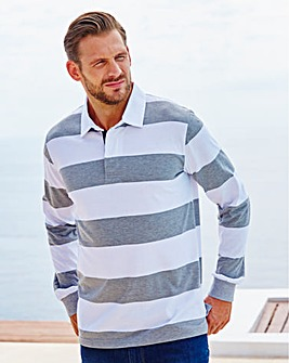 WILLIAMS & BROWN Stripe Rugby Shirt