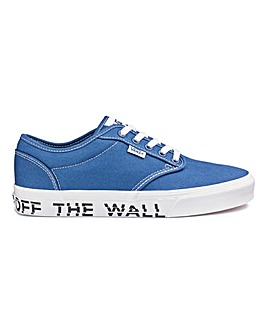 Vans Atwood Text Mens Trainers