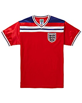 England 1982 Away Retro Football Shirt
