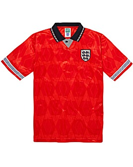 Scoredraw England 1990 Final Retro Shirt