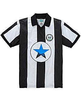 Newcastle United Retro Football Shirt