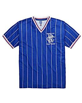 Scoredraw Rangers 1984 Final Retro Shirt