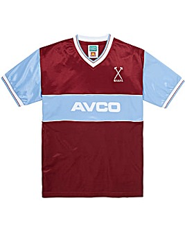 West Ham United Retro Football Shirt