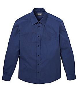 W&B London Navy L/S Formal Shirt R