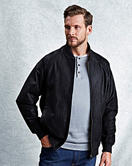 WILLIAMS & BROWN Leather Bomber Jacket
