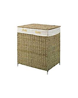 Laundry Basket Sorter - Seagrass