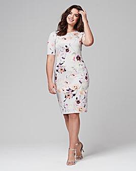 Joanna Hope Print Scuba Dress