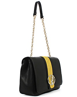 Versace Jeans Contrast Shoulder Bag