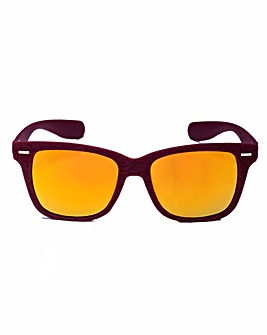Dixie Retro WAYFARER Red Sunglasses