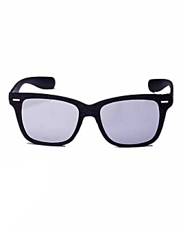 Dixie Retro WAYFARER Black Sunglasses