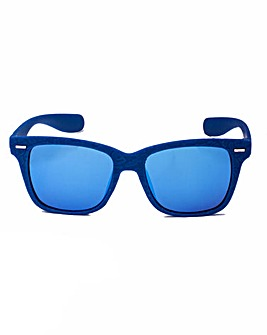 Dixie Retro WAYFARER Blue Sunglasses