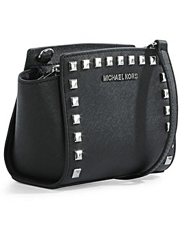 Michael Kors Black Mini Messenger Bag