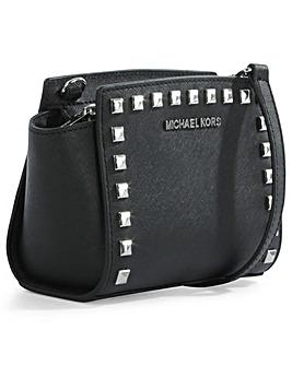 Michael Kors Black Mini Messenger Bag