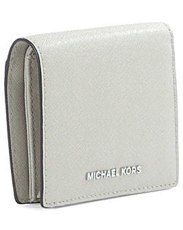 Michael Kors Saffiano Grey Wallet