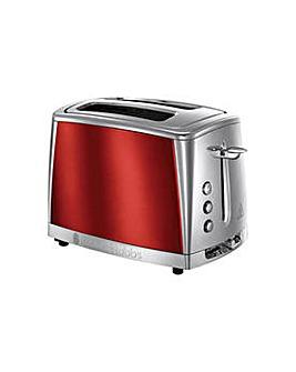 Russell Hobbs Luna 2-Slice Red Toaster