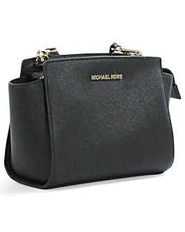 Michael Kors Small Black Messenger Bag