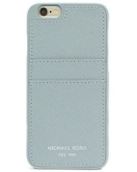 Michael Kors Blue Phone Card Case