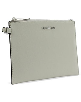 Michael Kors Large Grey Clutch Bag