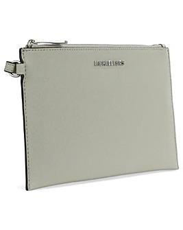 Michael Kors Large Grey Clutch Bag
