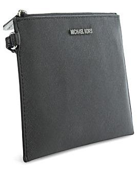 Michael Kors Large Black Clutch Bag