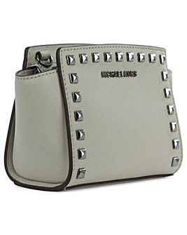 Michael Kors Grey Mini Messenger Bag