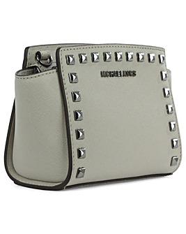 Michael Kors Grey Mini Messenger Bag