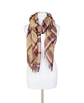 Pia Rossini Heather Scarf