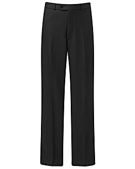 Premier Man Plain Front Trousers 27in
