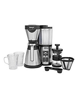 Ninja CF065UK Coffee Machine - Silver.