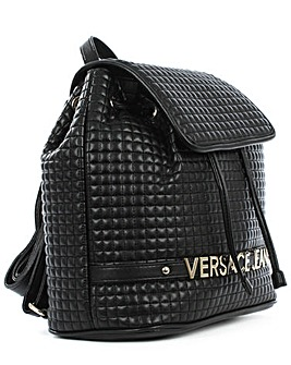 Versace Jeans Quilted Logo Backpack