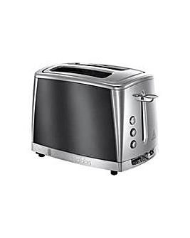 Russell Hobbs Luna 2-Slice Grey Toaster