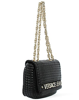 Versace Jeans Quilted Shoulder Bag