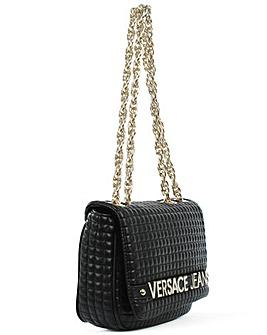 Versace Jeans Quilted Shoulder Bag
