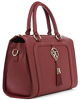 Armani Jeans Burgundy Eco Tassel Shopper