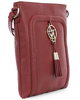 Armani Jeans Eco Burgundy Shoulder Bag