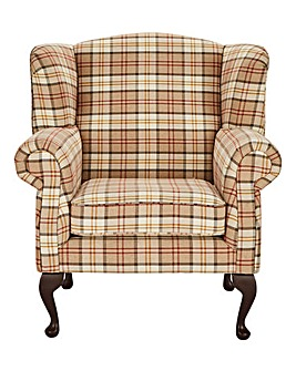 Argyle Wing Chair