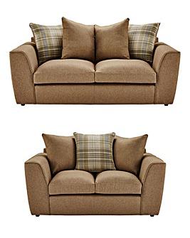 Hudson Three plus Two Seater Sofa