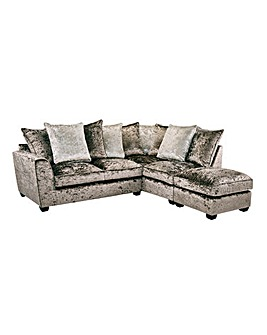 Jewel Righthand Corner Chaise Footstool