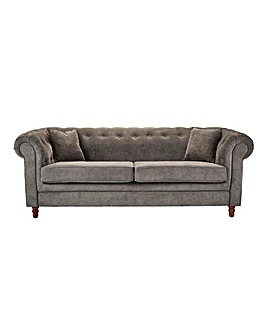 Chesterfield Fabric 3 Seater Sofa