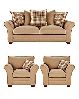 Argyle Three Seater Sofa plus Two Chairs