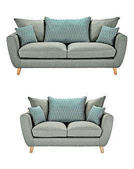 Prism Three plus Two Seater Sofa