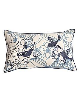 Songbird Blue Cushion