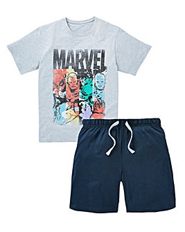 Marvel Heroes Shorts PJ Set